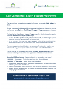 SE Low Carbon Heat Expert Support Flier-1
