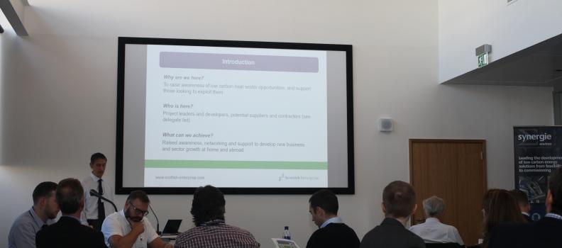 Free 'Opportunities in Low Carbon Heat' Workshop – Aberdeen