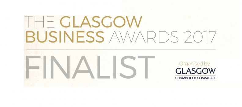 Shortlisted for two categories in Glasgow Chamber of Commerces 2017 Awards